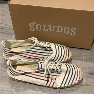 Soludos Shoes (run like a 7)